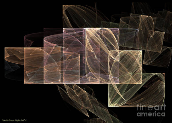 Digital Art - Movement And Light by Sandra Bauser Digital Art