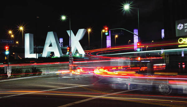 Wall Art - Photograph - Movement At Lax by April Reppucci