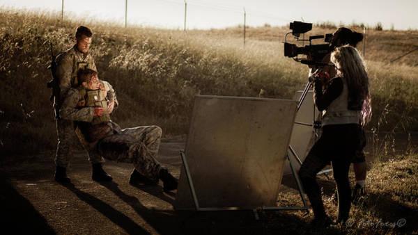 Photograph - Movie Scene by Alexander Fedin