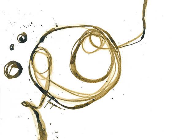 Painting - Moving Along - Revolving Life Collection - Modern Abstract Ink Artwork by Patricia Awapara