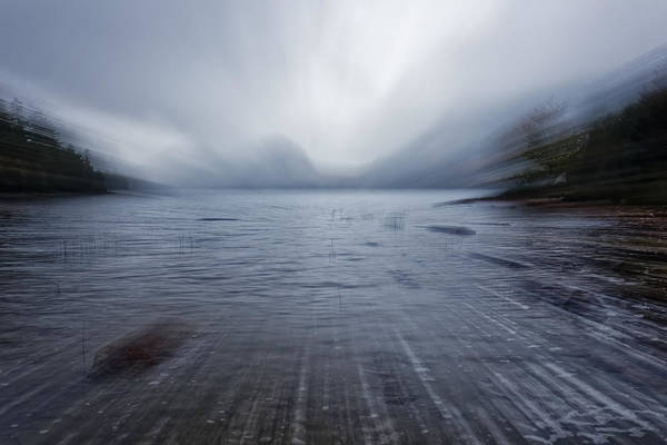 Digital Art - Moving Into The Lake by Jon Glaser