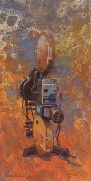 Camera Painting - Moving Picture Machine by Cody DeLong