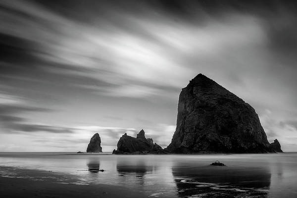 Wall Art - Photograph - Moving Skies Over Cannon Beach by Andrew Soundarajan