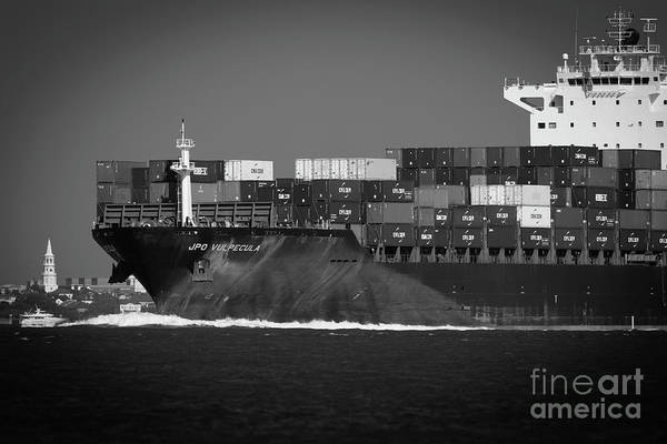 Photograph - Moving The Goods In Charleston by Dale Powell
