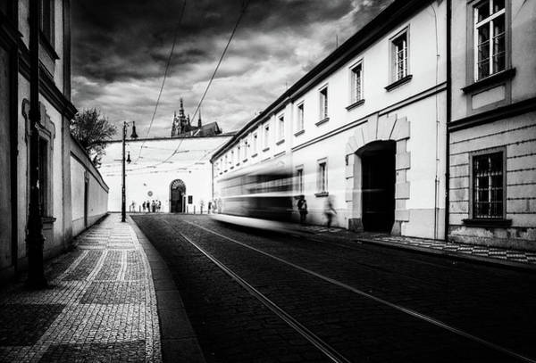 Photograph - Street Tram by M G Whittingham