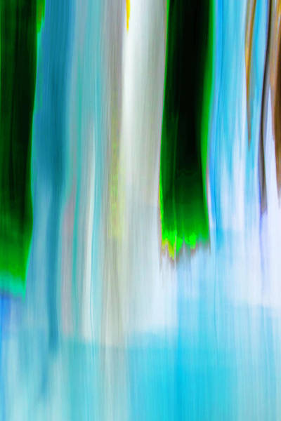 Digital Art - Moving Trees 37-25 Portrait Format by Gene Norris