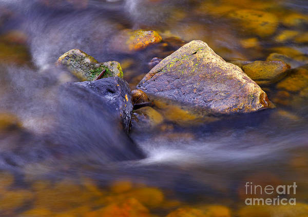 Photograph - Moving Water by Martyn Arnold