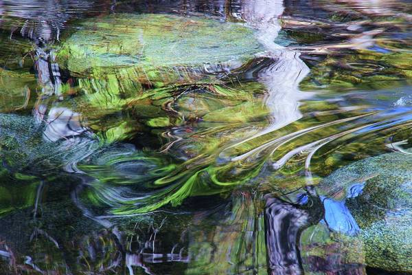 Photograph - Moving Water by Sean Sarsfield