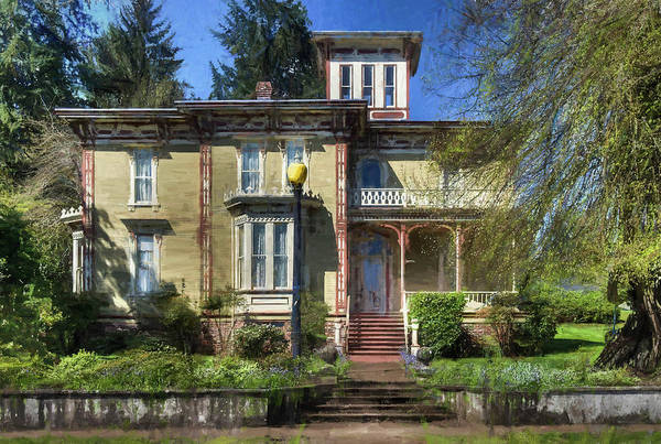 Photograph - Brownsville Moyer House by Thom Zehrfeld