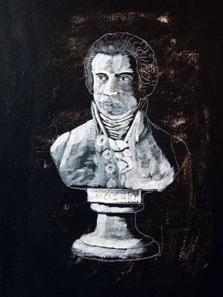 Painting - Mozart by Richard Le Page