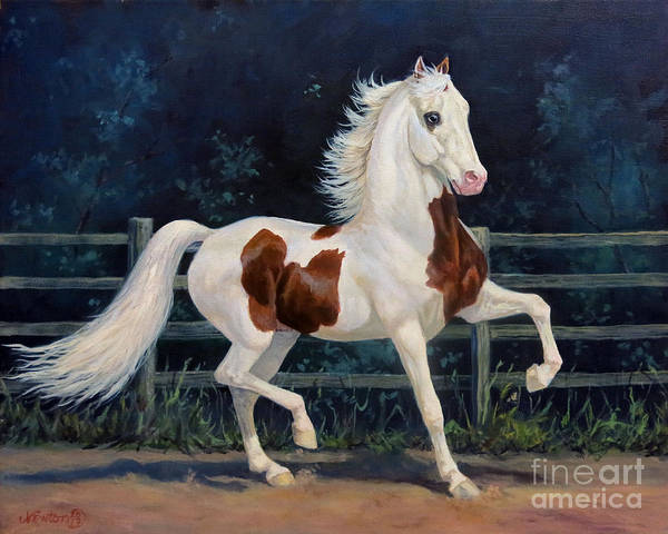 Wall Art - Painting - Mr. America by Jeanne Newton Schoborg