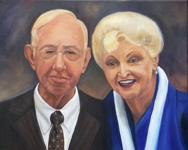 Painting - Mr. And Mrs. Birdsong by Anne Cameron Cutri