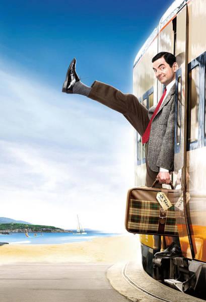 Television Digital Art - Mr. Bean's Holiday 2007 by Geek N Rock