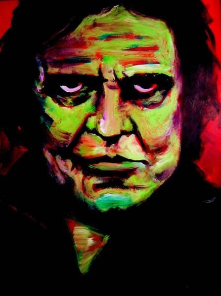 Painting - Mr. Cash by Jason Reinhardt