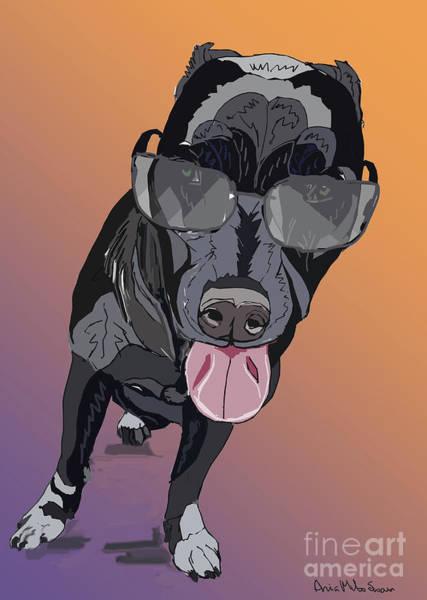 Digital Art - Mr Cool by Ania M Milo