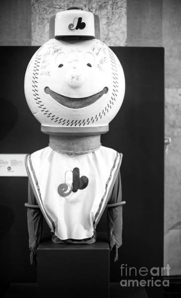 Photograph - Mr. Expos In Montreal by John Rizzuto