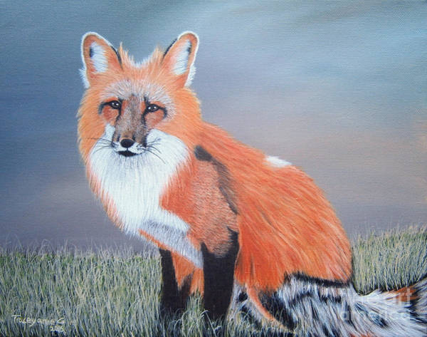 Painting - Mr. Fox by Tracey Goodwin