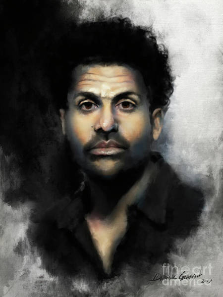 Digital Art - Mr. Gadlin by Dwayne Glapion