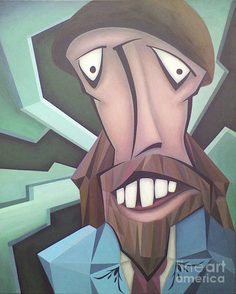 Wall Art - Painting - Mr. Hip5ster by Kevin J Graham