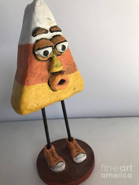 Sculpture - Mr Korny by Vickie Scarlett-Fisher