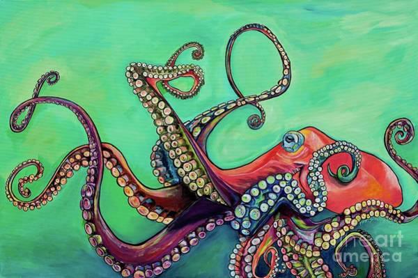 Painting - Mr Octopus by Patti Schermerhorn