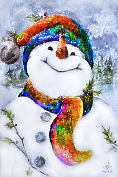 Photograph - Mr Snowman by Pennie McCracken