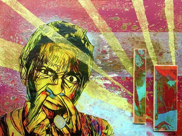 David Choe Painting - Mr. Thug by Bobby Zeik