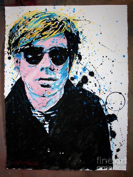 Andy Warhol Painting - Mr Warhol by CK Mackie