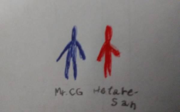 Drawing - Mr.cgandhetare-san by Sari Kurazusi