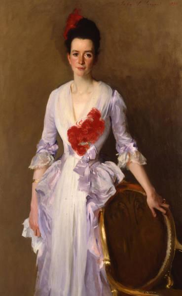 Mrs Archibald Douglas Dick Art Print