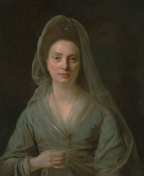 Painting - Mrs. Benjamin Cole by Nathaniel Hone