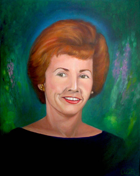 Painting - Mrs. Birdsong by Anne Cameron Cutri