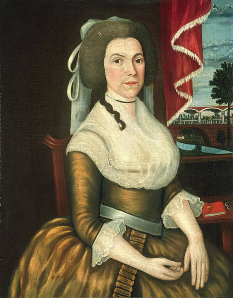 Painting - Mrs. Elizabeth Noyes Deniso by Joseph Steward