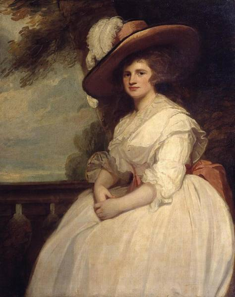 Romney Painting - Mrs John Matthews by George Romney