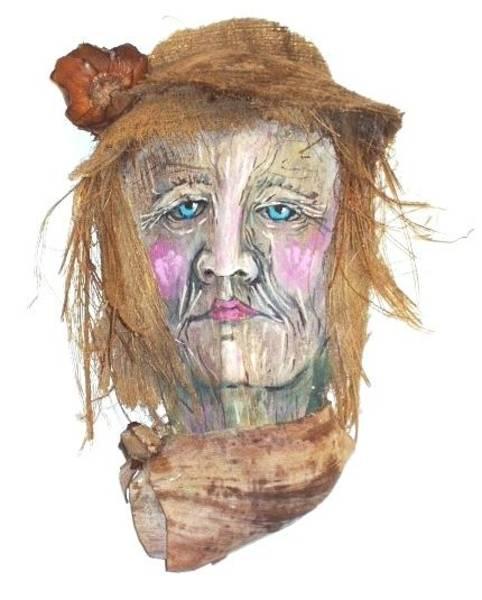 Caricature Mixed Media - Mrs. Palmer The Yuppie by Ellen Burns