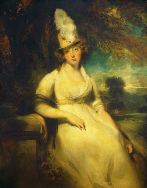 Painting - Mrs. Robert Blencowe by Sir Thomas Lawrence