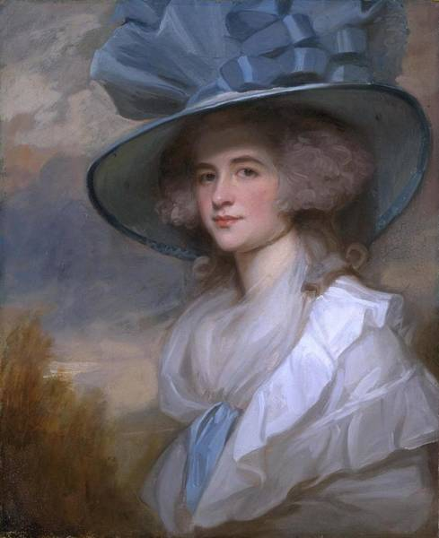 Romney Painting - Mrs Robert Trotter Of Bush by George Romney