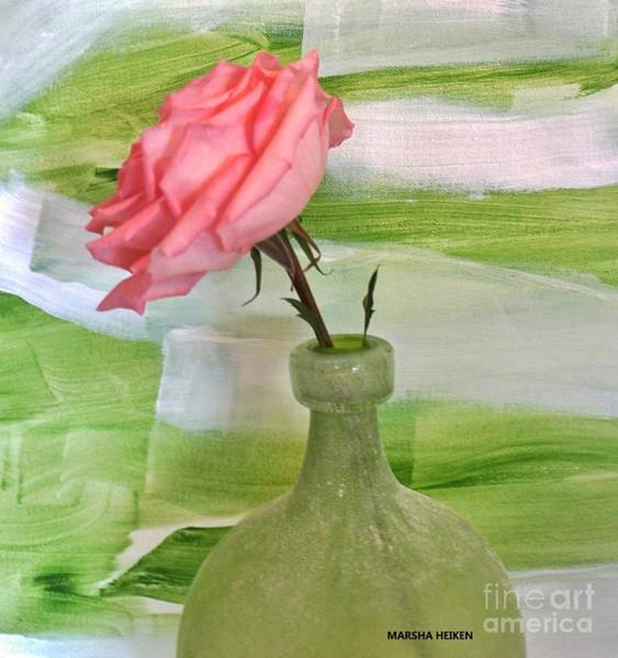 Wall Art - Mixed Media - Mrs Rose by Marsha Heiken