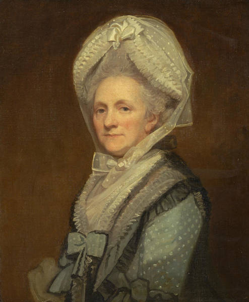 Romney Painting - Mrs. Thomas Phipps by George Romney