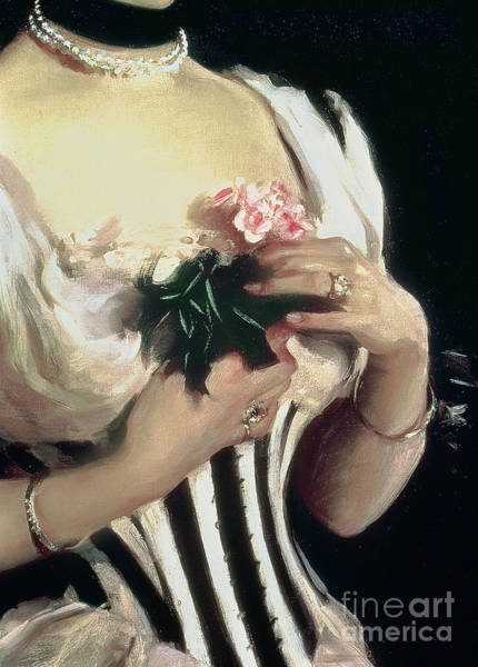 Diet Painting - Mrs Wilton Phipps by John Singer Sargent