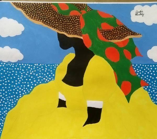 Gullah People Wall Art - Painting - Ms. Amazing by Quadre' Stuckey
