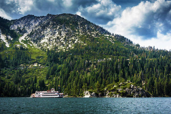 Photograph - M.s. Dixie II, Lake Tahoe, Ca by Bryant Coffey