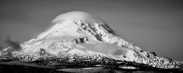 Photograph - Mt Adams by Albert Seger