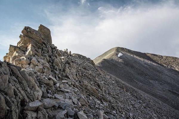 Fourteener Photograph - Mt. Antero Summit by Aaron Spong