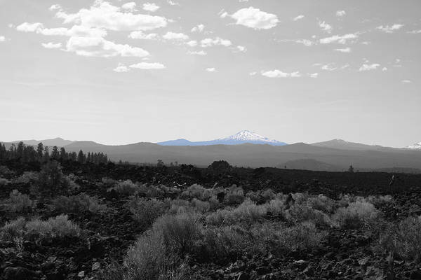 Photograph - Mt Bachelor by Dylan Punke