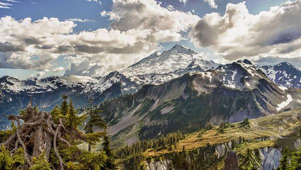 Wall Art - Photograph - Mt Baker Panoramic by Tony Locke