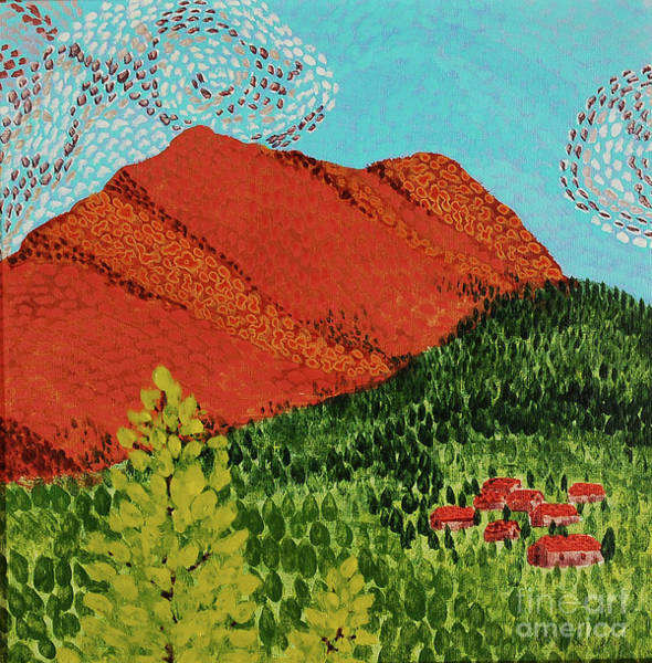Wall Art - Painting - Mt. Baldy by Annette McGarrahan