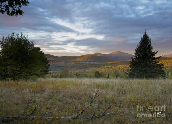 Photograph - Mt. Blue Autumn Sunrise by Alana Ranney