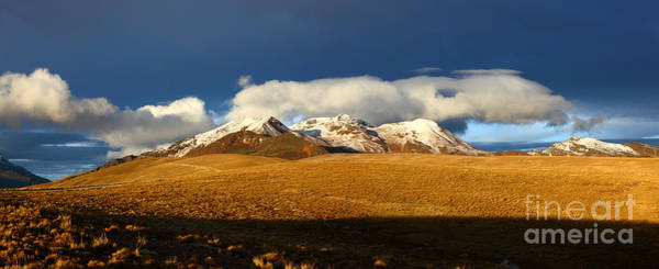 Photograph - Mt Chacaltaya Panorama by James Brunker