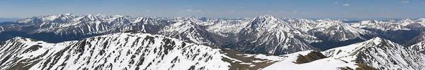Wall Art - Photograph - Mt. Elbert Summit Panorama by Aaron Spong